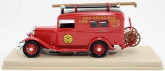 """1934 Ford V8 """"San Francisco Fire Dept."""" (Red)"""