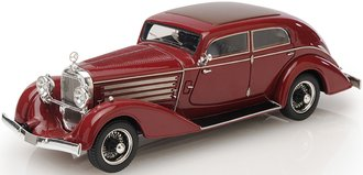 1:43 1932 Austro Daimler ADR 8 Alpine Sedan (Red)