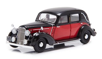 1937 Humber Snipe Saloon w/2 Side Windows (Red/Black)