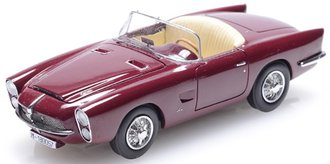 1959 Pegaso Z-102 by Spider Serra (Barcelona) (Top Down) (Maroon)