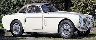 1953 Siata Daina 1800 Coupe by Bertone (Horizontal Bumpers) (White/Beige)