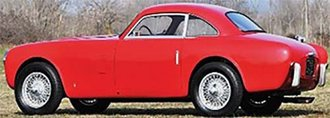 1952 Siata Daina 1800 Coupe by Bertone (Vertical Bumpers) (Red)