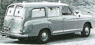 1954-1962 Mercedes-Benz 180D Ambulance by Binz (Swing Doors in Back) (Beige)