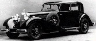 1936 Mercedes-Benz 540K Limousine (4-Doors) (Brown)