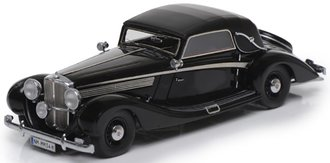 1938 Maybach SW 38 Cabriolet A by Spohn (Closed Roof) (Black)