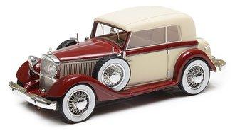 1934-37 Mercedes-Benz 290 W18 Cabriolet B (Closed) (Beige/Red)
