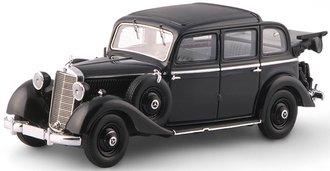 1936-1940 Mercedes-Benz 260D Pullman Landaulet (Black)