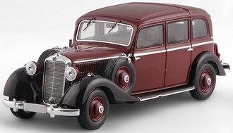 1936-1940 Mercedes-Benz 260D Pullman Landaulet (Maroon/Black)