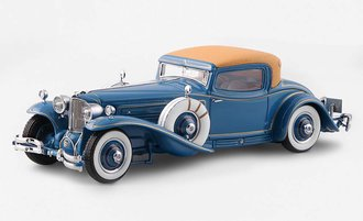 1:24 1929 Cord L-29 Coupe (By Hayes for Count Alexis de Sakhnoffsky) (Blue)
