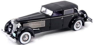 1937 Duesenberg SJ Town Car (Closed) (Black)
