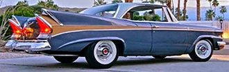 1:43 1958 Packard 58L Hard Top Coupe (Blue/Gold)