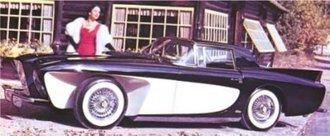 1955 Gaylord Gladiator - Paris Motor Show Car - Chrysler V8 Engine (Closed) (Black/Cream)