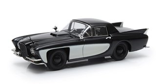 1:43 1957 Gaylord Gladiator w/Cadillac Eldorado V8 Engine (Closed) (Black/Cream)