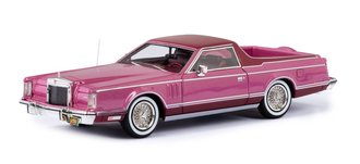 1:43 1979 Lincoln Continental Mark V Coloma Pickup by Caribou Motor Company (Dark Green/Light Green)