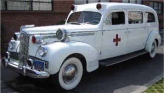 1:43 1942 Packard Ambulance by Henny (White)