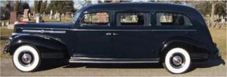 1:43 1941 Packard Hearse by Henny (Black)