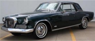 1:43 1964 Studebaker GT Hawk (Green)