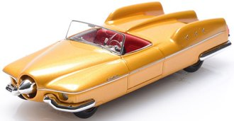 1953 Studebaker Manta Ray (Top Down) (Gold)