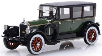 1:43 1920 Pierce-Arrow Model 32 7-Seat Limousine (Green/Black)