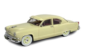 1:43 1953 Kaiser Carolina 2-Door Sedan (Yellow)