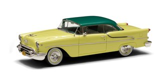 1:43 1955 Oldsmobile Super Holiday Model 88 2-Door Hard Top (Yellow/Green)