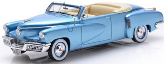 1:43 1948 Tucker Torpedo 2-Door Convertible (Top Down) (Waltz Blue)