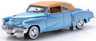 1948 Tucker Torpedo 2-Door Convertible (Top Up) (Waltz Blue)