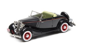 1933 Ford Model 40 Roadster (Top Down) (Black)