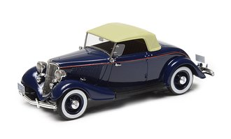 1933 Ford Model 40 Roadster (Top Up) (Dark Blue)