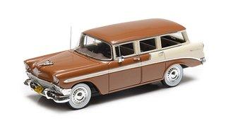 1956 Chevrolet Bel Air Beauville 4-Door Wagon (Brown/Cream)