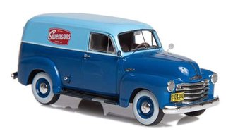 1949-53 Chevrolet Series 3100 Panel Delivery (2-Tone Blue)