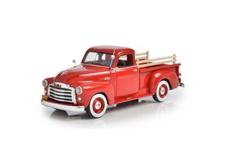 1:43 1951 GMC Series 100 5-Window Pickup (Red)