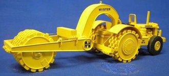 Caterpillar DW20 w/Hyster Pack Wheels & Tow Packer