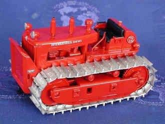 International TD-24 Push Block Tractor Crawler