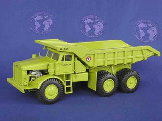 Euclid R62 Quarry Truck (Steerable Wheels)