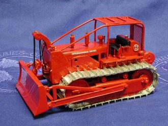 International TD24 Forestry Dozer (Metal Tracks)