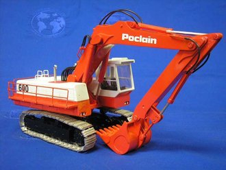 Poclain 600 Excavator (Metal Tracks)