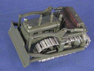 International TD-18 U.S. Army Hydraulic Dozer (Metal Tracks)