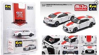 1:64 2020 Nissan GT-R R35 50th Anniversary Edition (White)