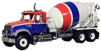Mack Granite Cement Mixer (Red/White/Blue)