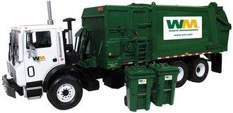 """Mack TerraPro Refuse Truck w/Heil Side Loader & Bins """"Waste Management"""""""