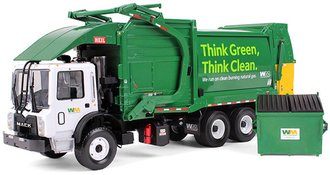 "Mack TerraPro w/Heil Half-Pack Freedom Front End Load w/CNrG Tailgate & Bin ""Waste Management"""