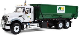 "Mack Granite w/Tub-Style Roll-Off Container ""Waste Management"""