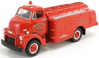 """1:34 1952 GMC Oil Tanker """"Philadelphia No.1 Fire Dept. Tanker Unit"""""""
