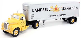 "1960 Mack B-61 w/Van Trailer ""Campbell 66 Express"""