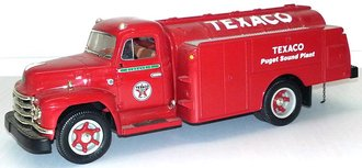 "1:34 1955 Diamond T Oil Tanker ""Texaco - Puget Sound Plant"""