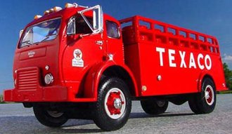 "1:34 1953 White 3000 Barrel Truck ""Texaco - Tour With"""