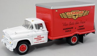 "1:34 1958 GMC Dry Goods Van ""Ace Hardware #4"" w/Lift Gate"