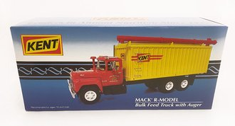 "Mack R-Model Bulk Feed Truck w/Auger ""Kent"" (Red/Yellow)"
