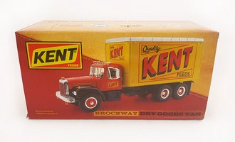 "Brockway Dry Goods Van ""Kent"" (Red)"